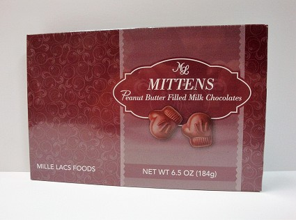 Peanut Butter & Chocolate Mittens -Large Box