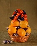 The Orange Fan Basket