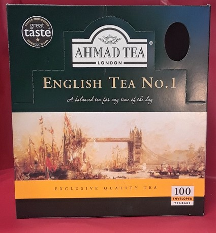 Ahmad English Tea 100ct.