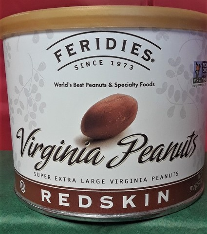 Virginia Redskin Peanuts
