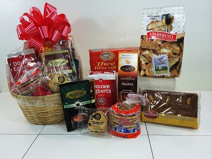 """Coffee Break""  Gourmet Gift Basket"